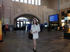 Lausanne - Gare (Alessia Cross) Tags: tgirl transgender transvestite crossdresser travestito