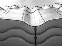 Ripples (Douguerreotype) Tags: city uk england urban blackandwhite bw abstract london monochrome architecture buildings mono britain gb british