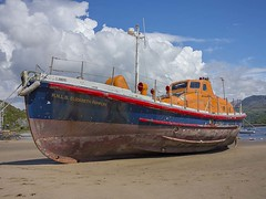 RNLI life boat decommissioned (foto.pro) Tags: life sea beach wales coast boat welsh saving rnli decommissioned