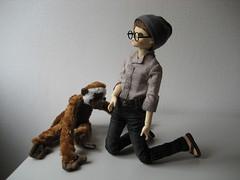 Plain Day 003 (EmpathicMonkey) Tags: toby ball toys happy monkey photo dolls olive story bjd jointed bluefairy