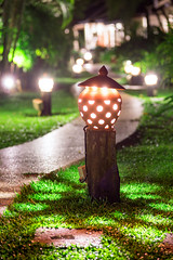 _MG_6386_web - Garden lights of The Leaf on the Sands Resort (AlexDROP) Tags: travel light color night zeiss landscape thailand bokeh postcard famous picturesque carlzeiss 2015 canon6d makroplanar100mpze