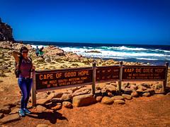 Cape of Good Hope (fabioseda) Tags: sea portrait people seascape nature girl point hope good landmark cape shirley capepoint seda capeofgoodhope iphone 500px seascapepeople