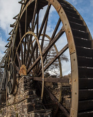 Water Wheel (TheGrumpyBear) Tags: england history museum port river mine victorian tourist quay historic copper morwellham