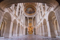 Palace of Versailles (Rushy9495) Tags: paris france painting gold paintings ceiling archway