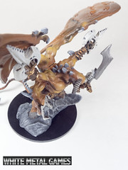 Rauthuros 7 (whitemetalgames.com) Tags: red orange white green grey reaper bat large dragons pit gargoyle toad demon huge devil medium winged fiend dungeons pathfinder balor