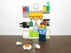 A Mishap in the LEGO Kitchen! (Pest15) Tags: kitchen lego error oops mishap minifigure klutz nationalkitchenklutzesofamericaday