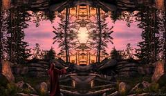 receiving - mirror worlds (Ralph Oechsle) Tags: light fairytale bayern czech tschechien fantasy czechrepublic consciousness channel mystic anotherworld southbohemia mirrorworlds sdbhmen dreisessel erhalten spiegelwelten weltenwanderer