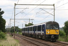 360114 Parsonage Lane LC (kitmasterbloke) Tags: railroad train outdoor railway essex mainline greateastern
