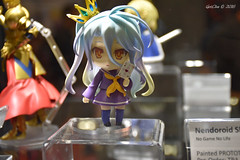 Shiro () (GetChu) Tags: anime expo 2016 ax figurine toy display animation video game collection japan culture los angeles convention south hall nendoroid no life    shiro