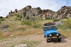 Castillo Peñas Negras [Mora / Spain] (babakotoeu) Tags: car jeep offroad 4x4 toyota land series 40 landcruiser cruiser troopy bj40 40series bj45