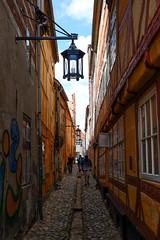Narrow street (Hkan Dahlstrm) Tags: street architecture denmark photography dk f56 uncropped danmark narrow helsingr 2016 helsingr xe2 1320sek xf1855mmf284rlmois helsingrmunicipality strandgade74 19507072016142758