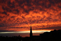 Luminous sunset (Lorni Mouse) Tags: sunset collingwood australia melbourne victoria