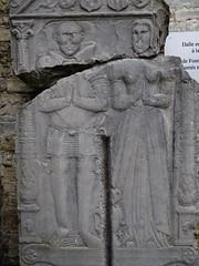 ca. 1549-1556 - 'Raes de Fonteny (Fontigny), mayeur de Geest-Grompont (+1556) and Anne de Ranst (+1549)' (Master of Seilles), glise Saint-Remy, Saint-Remy-Geest, Jodoigne, province of Walloon Brabant, Belgium (roelipilami) Tags: 1549 1556 raes de fontigny fonteny anne jeanne van ranst geronpont gerompont mayeur saintremygeest jodoigne st glise saint remy church kirche remigiuskerk sint remigius brabant wallon belgium gisant dalle funeraire grafmonument grafsteen lapida sepulcro tomb effigy monument grabdenkmal grabmal armour armure harnas renaissance meester master maitre seilles hautepiece pauldron