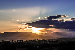 Sunset (Luca La Manna) Tags: sunset tramonto sun sky bluesky sicilia sicily italia italy cloud clouds painting orange blue picoftheday nuvola cielo allaperto