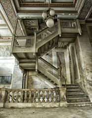 EMPIRE (Naaman Fletcher) Tags: tower abandoned birmingham downtown urbandecay alabama staircase e empire vault urbanexploring 1909 urbex heaviestcorner