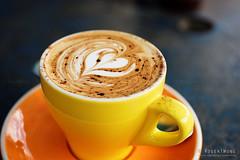 20150420-01-Cappuccino at Machine Cafe Laundry in Hobart (Roger T Wong) Tags: food coffee lunch cafe drink australia tasmania salamanca hobart cappuccino 2015 sigma50mmf28exdgmacro sigma50macro machinelaundrycafe rogertwong sonya7ii sonyilce7m2 sonyalpha7ii