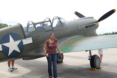 My favorite plane, the Mustang P-51 @Mustangs & Mustangs