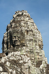 Carved Heads At Bayon Temple, Angkor Thom, Cambodia (violinconcertono3) Tags: green archaeology monument smiling stone architecture temple ancient asia cambodia khmer buddha religion praying large buddhism angkorwat carving empire ankor repairing block spirituality southeast siemreap angkor wat hinduism ancientcivilization ruined basrelief traditionalculture angkorthom tranquilscene banyon socialhistory humanhead humanface traveldestinations famousplace bayontemple oldruin indigenousculture handcarves builtstructure khmerridge