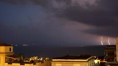 Tempesta di Fulmini (LuxTDG) Tags: sea sky italy storm clouds italia nuvole mare cielo napoli lightning neaples fulminate