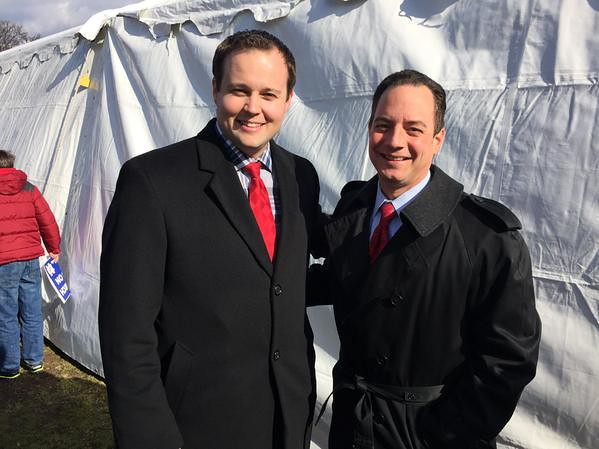 Josh Duggar With Reince