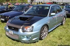 Impreza (Schwanzus_Longus) Tags: new blue car japan modern sedan germany japanese rally german subaru vehicle hood carbon bonnet saloon impreza wrx sti rallye zeche ewald herten