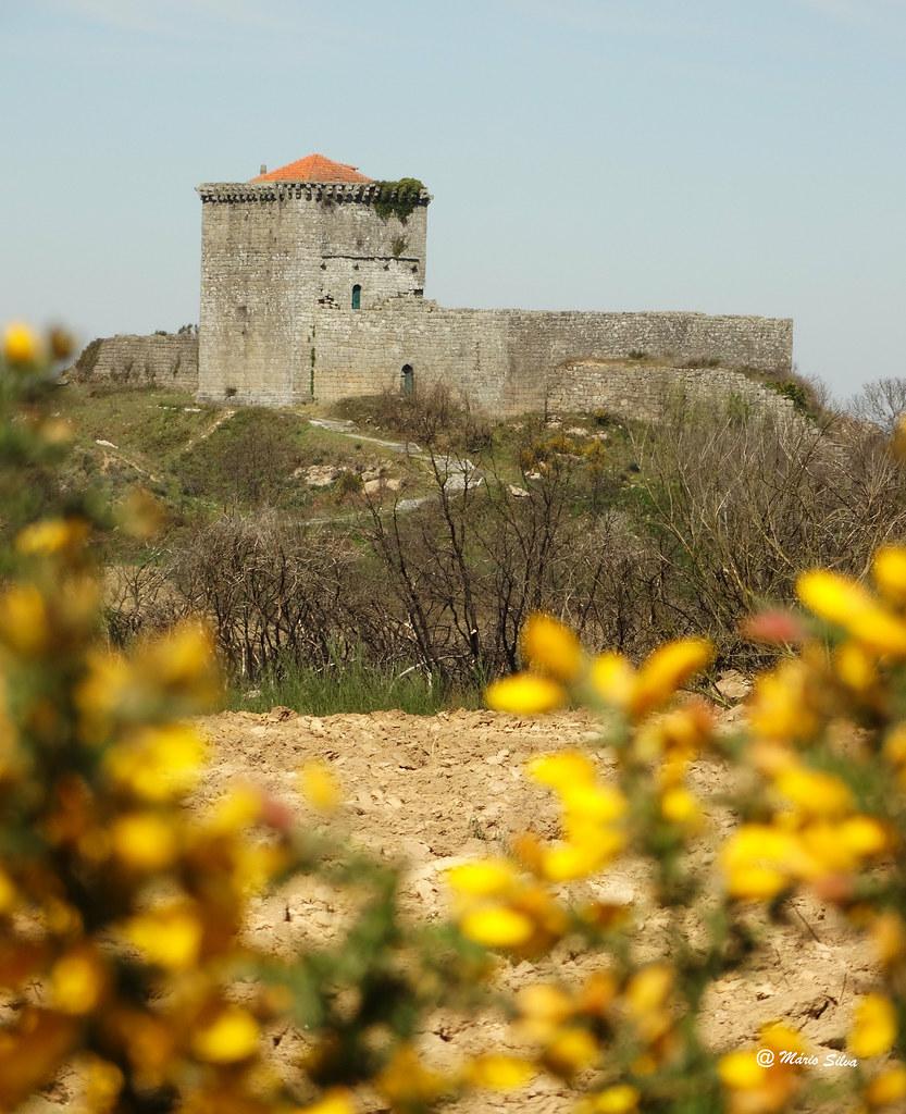 Águas Frias (Chaves) - Castelo de Monforte de Rio Livre - Monumento Nacional