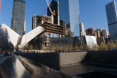 Under Construction (bmeeee) Tags: nyc newyorkcity architecture memorial path sony worldtradecenter wtc alpha nex6