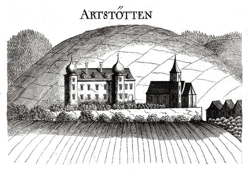 Artstetten. Schlossansicht aus 1672