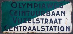 Lijn 24 (Tim Boric) Tags: amsterdam sign typography board tram destination streetcar tramway strassenbahn gvb typografie lijn24 koersbord zielanzeiger