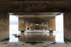 Under Hanalei Pier (fethers1) Tags: kauai hanaleipier hanalei kauaivacationmay2016 ericandtiffanyskauaiwedding