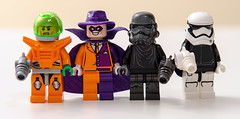 Lego Flash : The Rogues (Mr_Red_2001) Tags: dc lego flash heatwave mirrormaster captaincold thetrickster