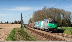 SNCF 467494 + 467629 @ Quvy (Wouter De Haeck) Tags: belgique belgi cargo sncf ballast hainaut henegouwen brusselzuid l96 socitnationaledescheminsdeferfranais quvy somain sncffret bb67000 brissonneauetlotz infrabel aulnois steenslag quenast