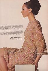 Vogue Editorial September 1965 (moogirl2) Tags: 60s retro vogue editorial 1965 irvingpenn vintagefashion marisaberenson 60sfashion vintagevogue 60shair vintagefashionphotography