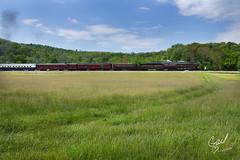 I Hear That Train Comin' (gdalton91) Tags: railroad field train spring nw ns norfolk engine railway steam southern va locomotive 611