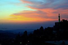 Stunning Sunset over the city of #Nablus earlier (TeamPalestina) Tags: sunset sky sun sunrise canon landscape landscapes photo am amazing nice nikon photographer natural sweet live palestine nablus comfort sunrays beautifull palestinian  landscapecaptures
