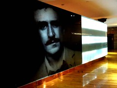 Rennie Mackintosh (Clare-White) Tags: man reflection face scotland gallery scottish rennie mackintosh immpressonist