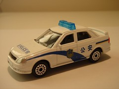 ETI/TECHNOPARK LADA PRIORA CHINESE POLICE CAR 1/64 (ambassador84 OVER 5 MILLION VIEWS. :-)) Tags: policecar lada eti diecast technopark ladapriora