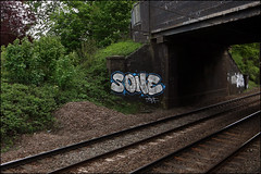 Sone (Alex Ellison) Tags: urban graffiti boobs railway graff trackside ctr tbf pws paintwasters thebufffails cityrollers