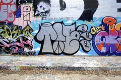 TIE (STILSAYN) Tags: california oakland bay tie east area graffii bbb 2016