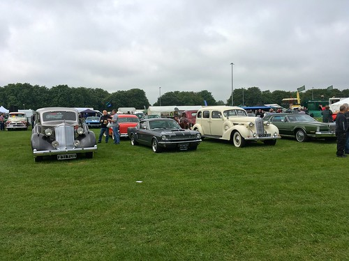 Enfield Car Pageant London May 2016