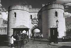 Tower of London (goodfella2459) Tags: people white black london tower history film analog nikon f65 100 milf 35m adox oldandbeautiful silvermax
