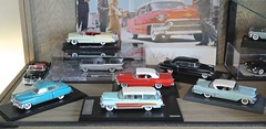 Cadillac 1950-1957 Models (Jeffcad) Tags: cadillac scale model collection 1950 1953 1956 1957 143 ixo minichamps glm neo spark eldorado fleetwood convertible 75 limousine wagon sedan coupe deville woodie viewmaster biarritz lemans resin diecast fins curio cabinet display family fleet