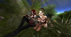 Reading to Arya (Ima Peccable) Tags: secondlife hobbits shire friendssecondliferegiontheshiresecondlifeparceltheshireahomelysliceofmiddleearthsecondlifex185secondlifey226secondlifez18
