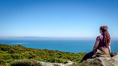 Mores Reserve lookout (Kathrin & Stefan) Tags: ocean sky nature rock island bush scenery outdoor lookout tasmansea rakiura stewartisland foveauxstrait kathrinmarks