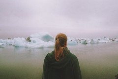 . (Careless Edition) Tags: lake film nature landscape island photography iceland south lagoon glacier jkulsarlon