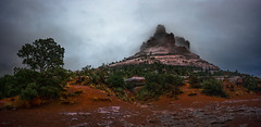 Sedona Bell (armand.gerstenberger) Tags: ifttt 500px sedona rain fog brume overcast weather clouds bell armand gerstenberger arizona us southwest