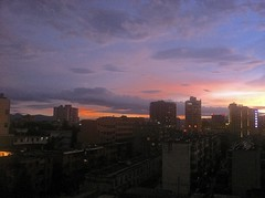 Wuhan Skyline (jessicablier) Tags: wuhan china international sunset skyline no smog