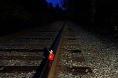 ernie's big adventure (danna  curious tangles) Tags: train toy sesamestreet ernie