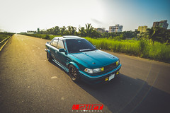 Low Down (T.Hossain) Tags: morning car clouds earlymorning shift toyota vehicle dhaka bangladesh lowered rolling corolla jdm slammed silvertop 4age ae91 stanced stanceworks cambered eatsleepjdm stancenation eatsleepshift stancewars loweredlifestyle cambergang