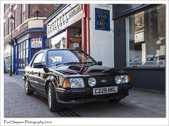 Ford Escort Mk III (Paul Simpson Photography) Tags: classic cars ford car classiccar transport lincolnshire classics towncentre fordescort motorcar brigg photosof imageof photoof imagesof forduk paulsimpsonphotography borderclassiccarrally may2016